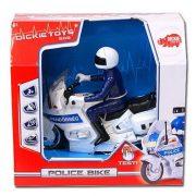 Dickie Toys SOS Series - Rendőrségi motor figurával