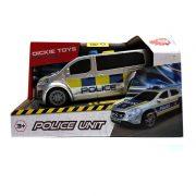 Dickie Toys SOS Series - Citroen rendőrségi furgon fénnyel és hanggal