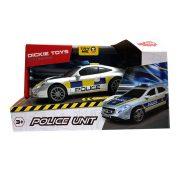 Dickie Toys SOS Series - Porsche rendőrautó fénnyel és hanggal