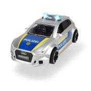 Dickie Toys SOS Series - Audi RS3 Police rendőrautó fénnyel és hanggal