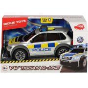 Dickie Toys SOS Series - VW Tiguan R-Line rendőrautó fénnyel és hanggal