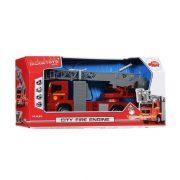 Dickie Toys SOS Series - MAN tűzoltóautó fénnyel és hanggal
