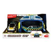 Dickie Toys SOS Series - Command Unit rendőrparancsnokság fénnyel és hanggal