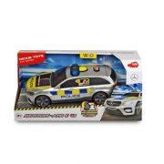 Dickie Toys SOS Series - Mercedes-AMG E 43 rendőrautó fénnyel és hanggal