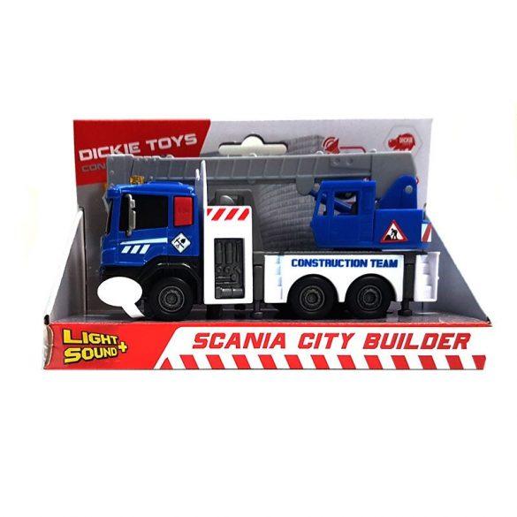 Dickie Toys Construction - Scania darus kocsi