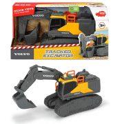 Dickie Toys Construction Series - Volvo lánctalpas markológép