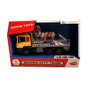 Dickie Toys City - Scania útkarbantartó teherautó fénnyel és hanggal