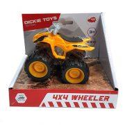 Dickie Toys Action Series - 4x4 hajtású narancssárga quad