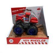 Dickie Toys Action Series - 4x4 hajtású piros kamion