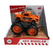 Dickie Toys Action Series - 4x4 hajtású narancssárga pickup