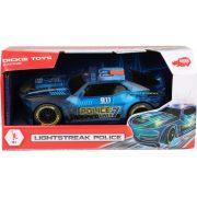 Dickie Toys Racing & Action - Lightstreak rendőrségi autó fénnyel és hanggal