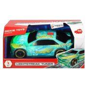 Dickie Toys Racing - Lightstreak Tuner versenyautó fény-és hanghatásokkal