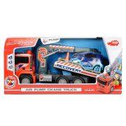 Dickie Toys Air Pump - Pumpás autószállító teherautó