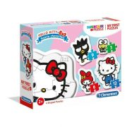 Clementoni 20818 My first SuperColor Puzzle - Hello Kitty 4 az 1-ben