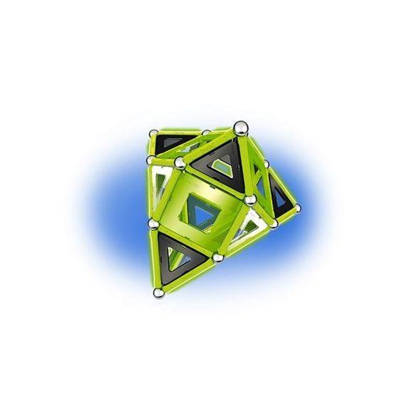 Geomag GLOW foszforeszkáló mágneses építőkészlet 104 db