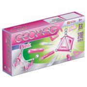 Geomag PINK rózsaszín mágneses építőkészlet lányoknak 22 db