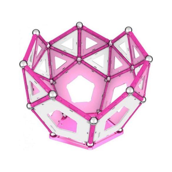 Geomag PINK rózsaszín mágneses építőkészlet lányoknak 104 db