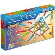 Geomag Confetti mágneses építőjáték (68 db)