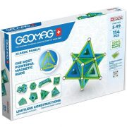 Geomag Green Line Classic Panel mágneses építőjáték (114 db-os)