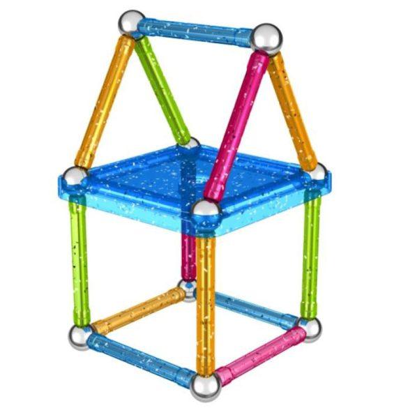 Geomag Glitter csillogó mágneses építőjáték (30 db)