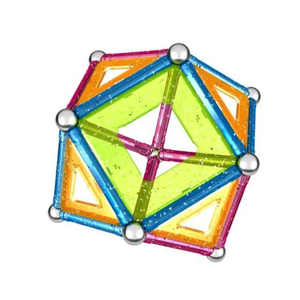 Geomag GLITTER csillámos mágneses építőjáték 44 db
