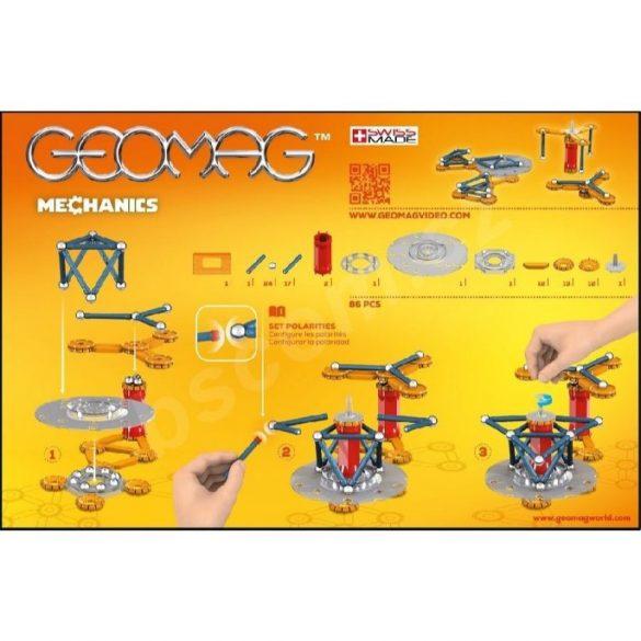Geomag MECHANICS mágneses építőkészlet 86 db