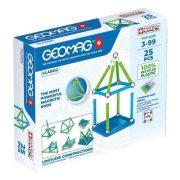 Geomag Classic Green Line - Mágneses építőjáték (25 db-os)
