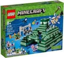 LEGO Minecraft 21136 Emlékmű az óceán partján