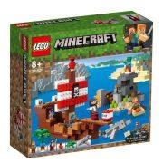 LEGO Minecraft 21152 A kalózhajós kaland