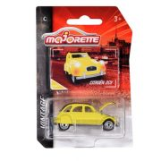 Majorette Vintage 253A-3 Citroen 2CV kisautó (sárga)