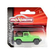 Majorette Street Cars Jeep kisautó (zöld)