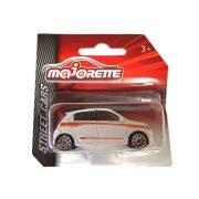 Majorette Street Cars Renault kisautó (narancssárga csíkkal)