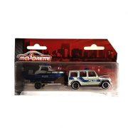 Majorette City Set - Rendőrautó motorcsónakkal