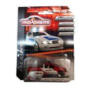 Szirénázó Chevrolet Silverado tűzoltó pickup
