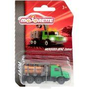 Majorette Farm kisautók - Mercedes-Benz Zetros rönkszállító teherautó
