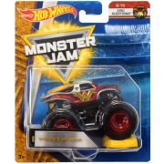 Hot Wheels Monster Jam kisautók kilapítható gumiautóval - WONDER WOMAN