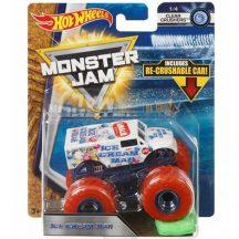 Hot Wheels Monster Jam kisautók kilapítható gumiautóval - ICE CREAM MAN