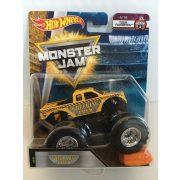 Hot Wheels Monster Jam kisautók kilapítható gumiautóval - Wrecking Crew