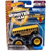 Hot Wheels Monster Jam kisautók kilapítható gumiautóval - HIGHER EDUCATION