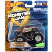 Hot Wheels Monster Jam kisautók kilapítható gumiautóval - MONSTER MUTT
