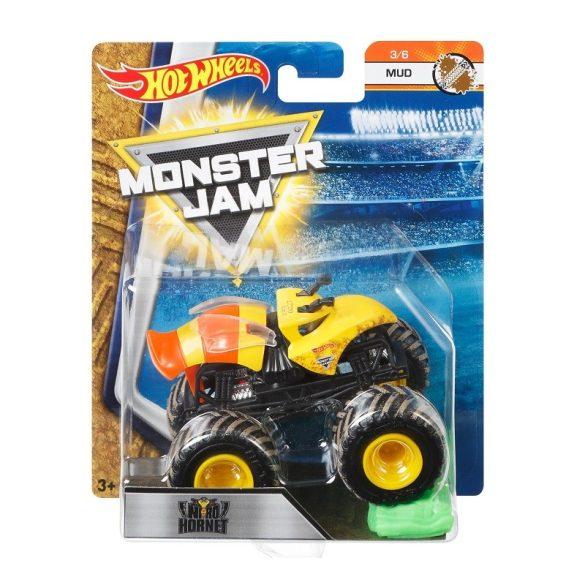 Hot Wheels Monster Jam kisautók kilapítható gumiautóval - Nitro Hornet