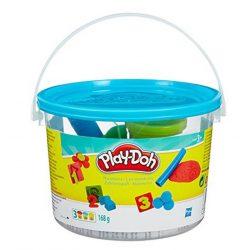 Play-Doh Mini vödör gyurmakészlet - KÉK