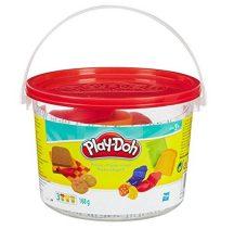 Play-Doh Mini vödör gyurmakészlet - PIROS