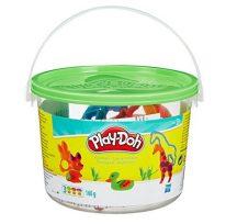 Play-Doh Mini vödör gyurmakészlet - ZÖLD
