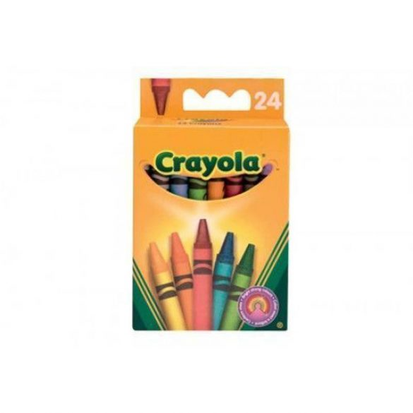 Crayola - zsírkréta készlet - 24 db