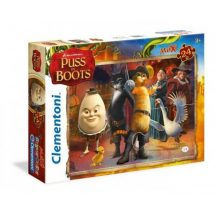 Clementoni 24045 Maxi puzzle - Shrek: Csizmás kandúr (24 db-os)