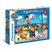 Clementoni 24049 SuperColor Maxi Puzzle - Mancs õrjárat (24 db)