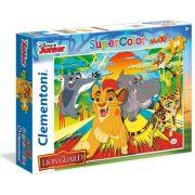 Clementoni 24056 SuperColor Maxi puzzle - Oroszlán őrség (24 db)