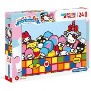 Clementoni 24202 SuperColor Maxi puzzle - Hello Kitty (24 db)