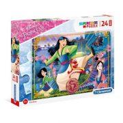 Clementoni 24206 SuperColor Maxi Puzzle - Mulan (24 db-os)